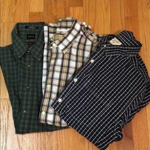 💥Bundle 3 Long Sleeve Men's Shirts